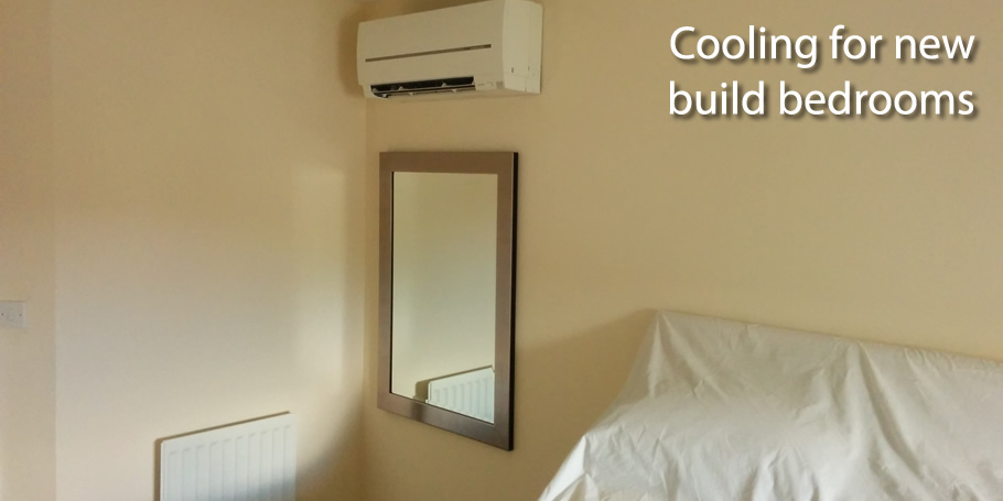 Cooling for new build bedrooms
